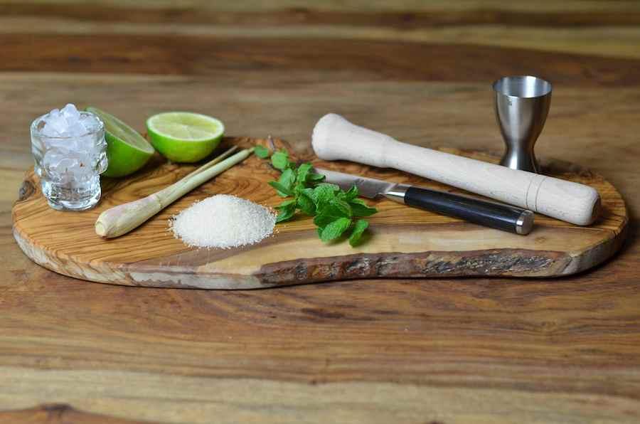 Der perfekte Drink - Lemongrass Mojito - Die Zutaten