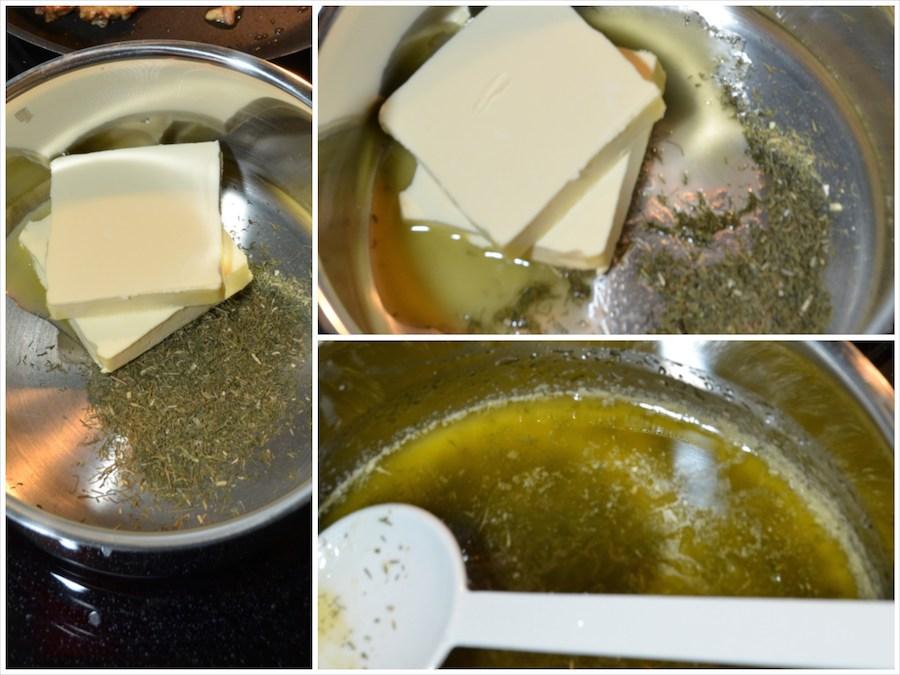 Dorade mit Dill-Butter