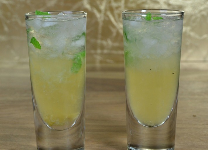 Grilled Lime Mojito
