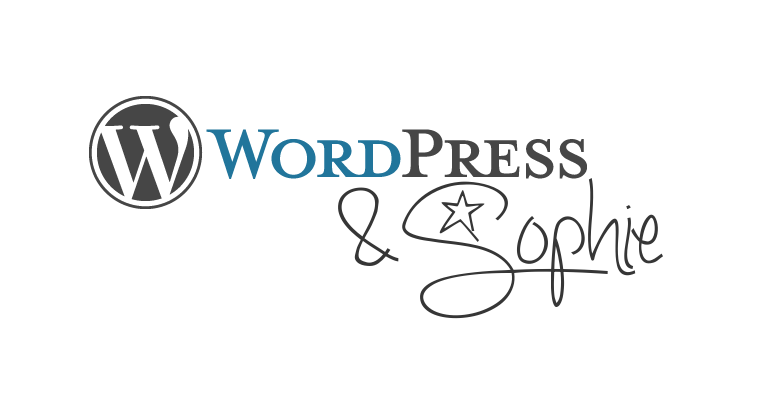 somehowsophie & WordPress