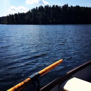 Review Juni 01: Boot fahren am Stausee Ottenstein