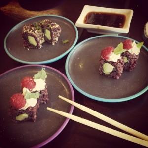 Review Juni 04: Vegane Maki zum Frühstück!