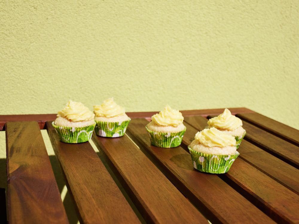 Meine neuen Lieblinge: vegane Limetten-Kokos-Cupcakes - Sommergenuss - Rezept - Dessert - Vegan