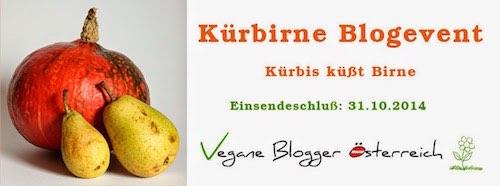 """Banner zum Blogevent """"Kürbirne"""""""