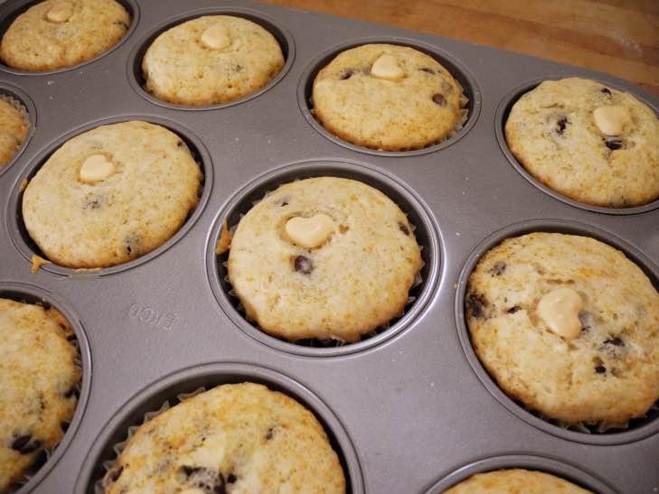 Schokotröpfchen-Muffins