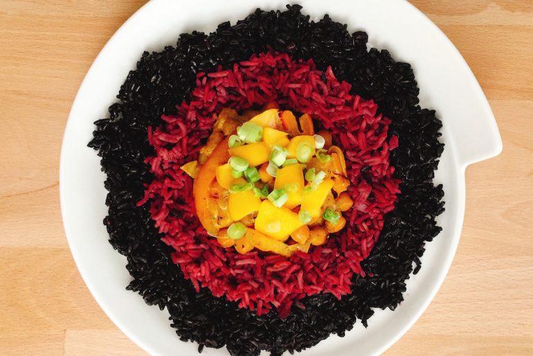 Fruchtiges Kichererbsen-Curry